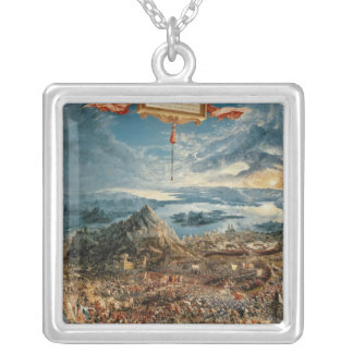 The Battle of Issus Silver Plated Necklace
