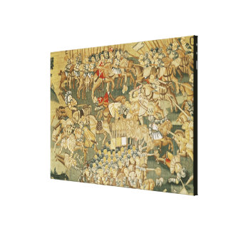 The Battle of Jarnac Canvas Print