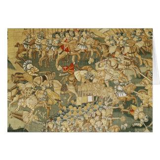 The Battle of Jarnac Card