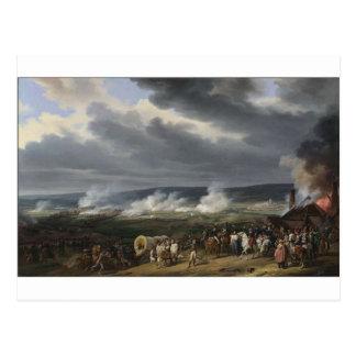 The Battle of Jemappes by Horace Vernet Postcard