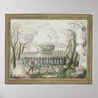 The Battle of Jemmapes, 6th November 1792 Poster