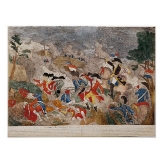 The Battle of Jemmapes,printed by Basset Poster