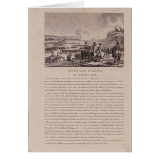 The Battle of Jena, 14th October 1806 Card