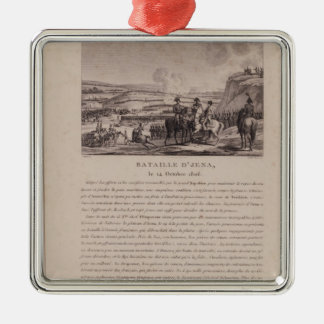 The Battle of Jena, 14th October 1806 Christmas Ornaments
