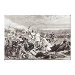 The Battle of Kalka Canvas Print