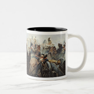 The Battle of La Fere-Champenoise Two-Tone Coffee Mug