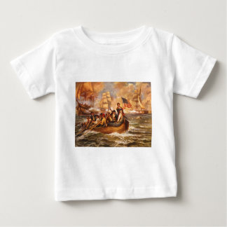 The Battle of Lake Erie by Percy Moran Baby T-Shirt