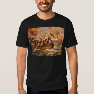 The Battle of Lake Erie by Percy Moran Shirt
