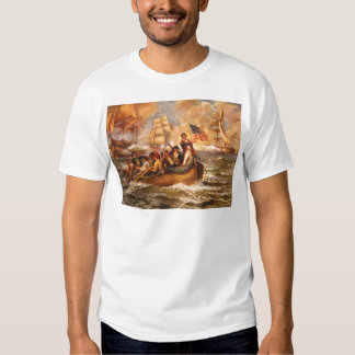 The Battle of Lake Erie by Percy Moran Tee Shirt
