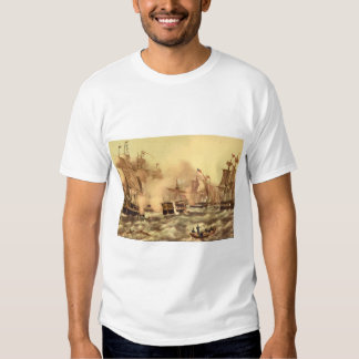 The Battle of Lake Erie, Commodore_Engravings T Shirt