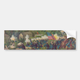 The Battle of Las Guasimas Spanish American War Bumper Sticker