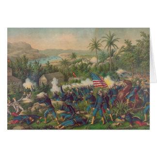 The Battle of Las Guasimas Spanish American War Card