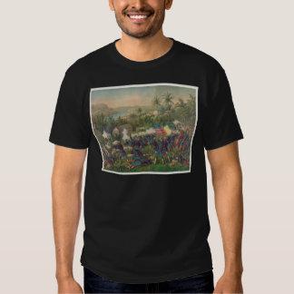 The Battle of Las Guasimas Spanish American War T-Shirt
