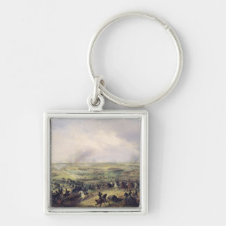 The Battle of Leipzig, 16-19 October 1813 Silver-Colored Square Keychain