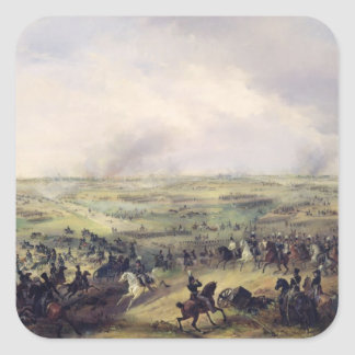 The Battle of Leipzig, 16-19 October 1813 Square Sticker
