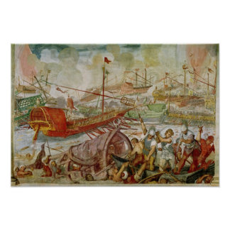 The Battle of Lepanto, October 1571, 1600 Poster