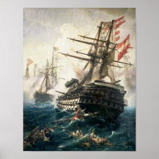 The Battle of Lissa Print