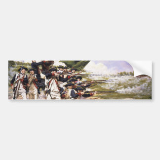 The Battle of Long Island by Domenick D'Andrea Bumper Stickers