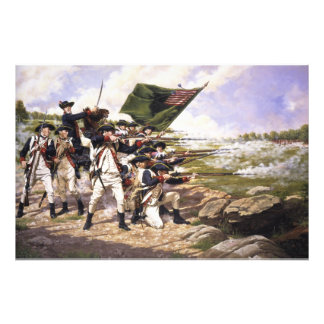 The Battle of Long Island by Domenick D'Andrea Photo Print