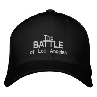 The Battle of Los Angeles Embroidered Baseball Hat