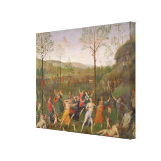 The Battle of Love and Chastity, after 1503 Canvas Print