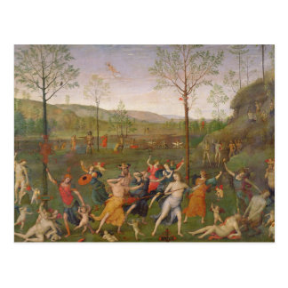 The Battle of Love and Chastity, after 1503 Postcard
