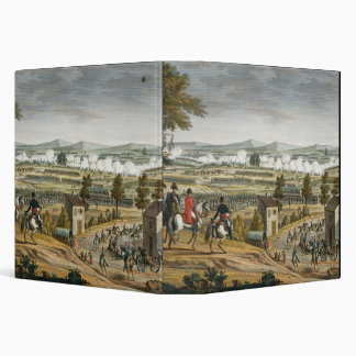 The Battle of Lutzen, 2 May 1813, engraved by Edme 3 Ring Binder