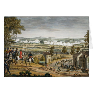 The Battle of Lutzen, 2 May 1813, engraved by Edme Card
