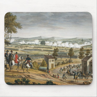 The Battle of Lutzen, 2 May 1813, engraved by Edme Mouse Pad