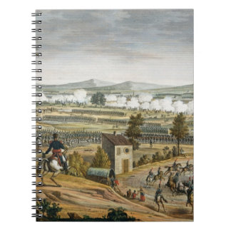 The Battle of Lutzen, 2 May 1813, engraved by Edme Spiral Note Books