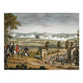 The Battle of Lutzen, 2 May 1813, engraved by Edme Postcard