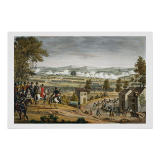 The Battle of Lutzen, 2 May 1813, engraved by Edme Print