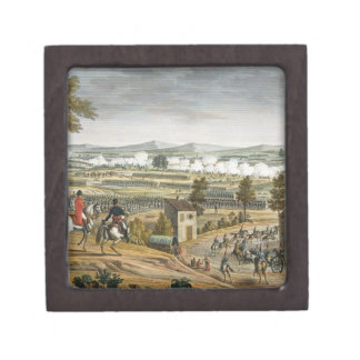 The Battle of Lutzen, 2 May 1813, engraved by Edme Premium Trinket Boxes