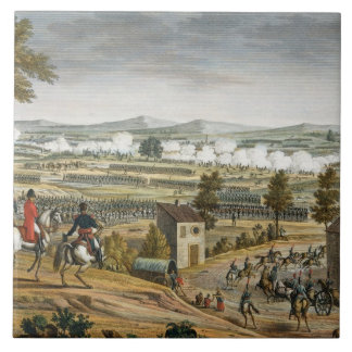 The Battle of Lutzen, 2 May 1813, engraved by Edme Tile