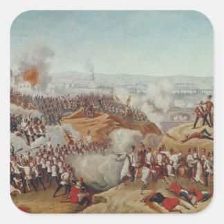 The Battle of Magenta, 4th June 1859, c.1859 Square Sticker