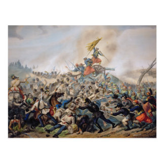 The Battle of Magenta Postcard