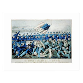 The battle of Malvern Hill, Va. July 1st 1862 Postcard