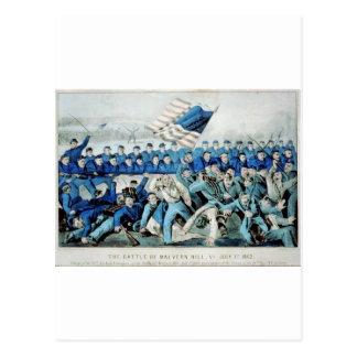 The battle of Malvern Hill, Va. July 1st 1862 Postcard