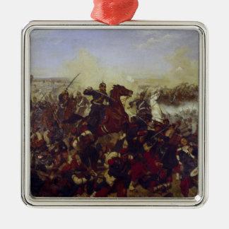 The Battle of Mars de la Tour Metal Ornament