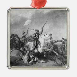 The Battle of Marston Moor, 2nd July 1644 Metal Ornament