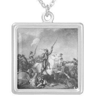 The Battle of Marston Moor, 2nd July 1644 Silver Plated Necklace