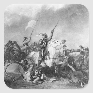 The Battle of Marston Moor, 2nd July 1644 Square Sticker