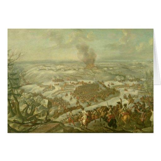 The Battle of Maxen, November 1759 Greeting Cards