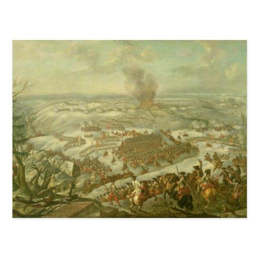 The Battle of Maxen, November 1759 Postcard