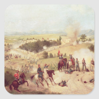 The Battle of Molino del Rey, 8th September 1847 Square Sticker