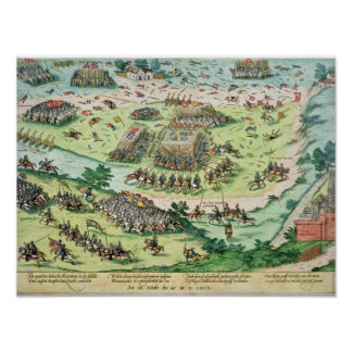 The Battle of Moncontour, 3rd October 1569 Poster