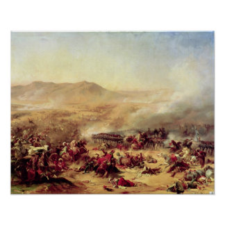 The Battle of Mont Thabor, 16th April 1799 Poster