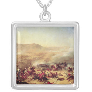 The Battle of Mont Thabor, 16th April 1799 Silver Plated Necklace