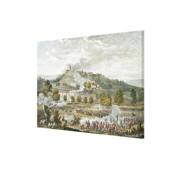 The Battle of Montebello and Casteggio, 20 Prairia Canvas Print