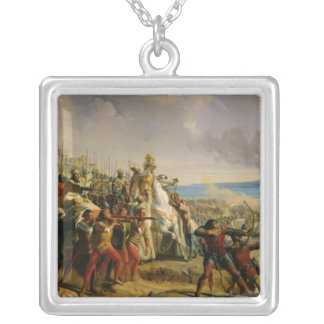 The Battle of Montgisard Silver Plated Necklace